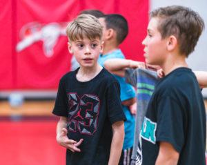 Kid Talking to Friend